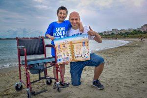 Prima plaja pentru dizabilitati. Reusim impreuna